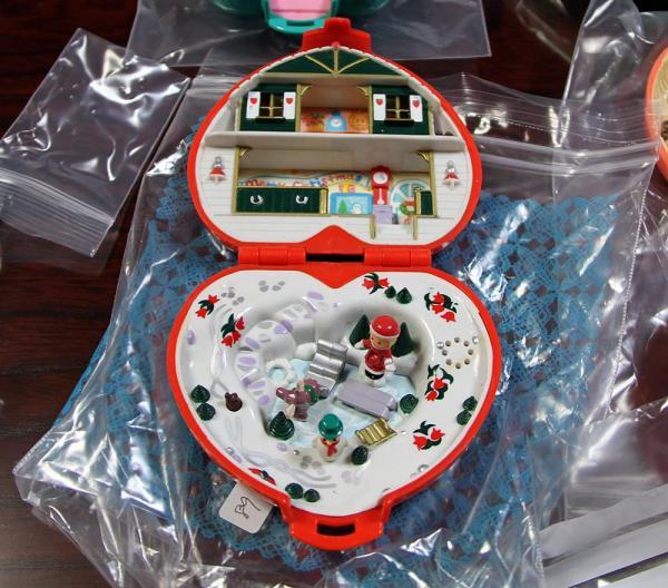 クリスマスバージョンのポーリーポケット