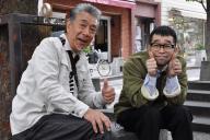 「じゅん散歩」で共演した高田純次さん(左)と槇原敬之さん
