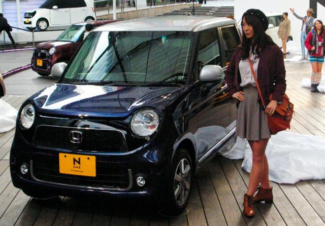 ホンダの軽自動車「N-ONE」
