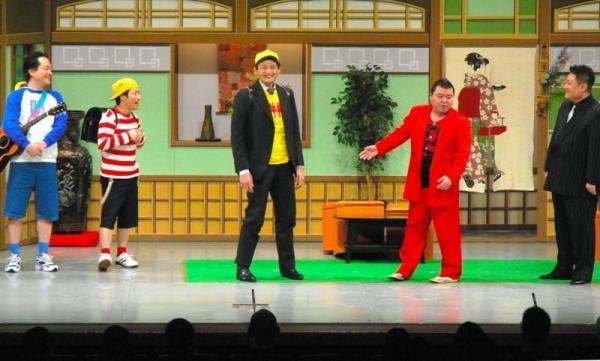 【2013年3月3日】吉本新喜劇に出演した貴乃花親方