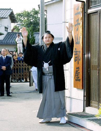 【1994年11月23日】横綱昇進を決めた貴乃花