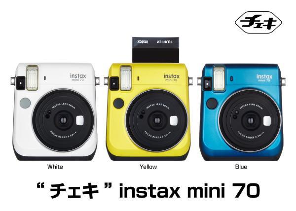 """""""チェキ""""「instax mini 70」"""