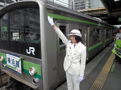 最終運行となった横浜線205系