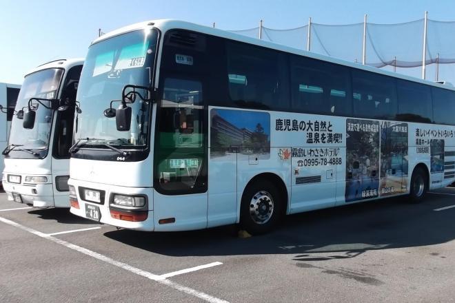 """運転手の""""神アナウンス""""が話題になった高速バス「桜島号」"""