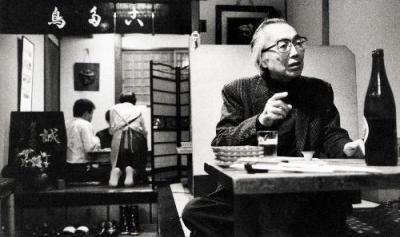 吉村平吉さん=1990年10月