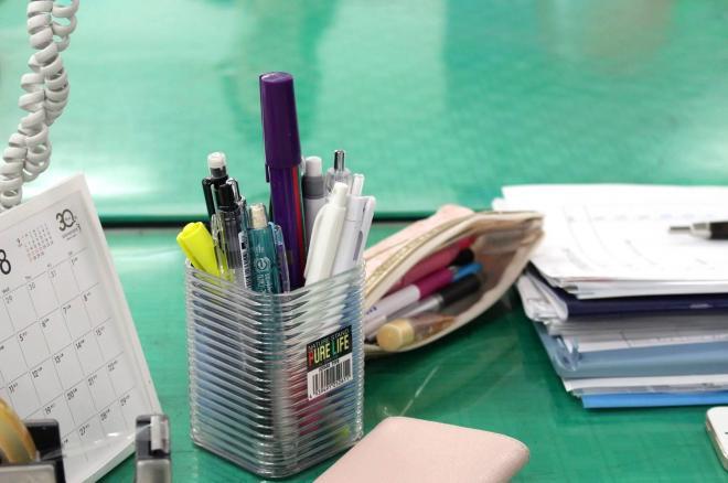 ペンと一緒にしても違和感なし?