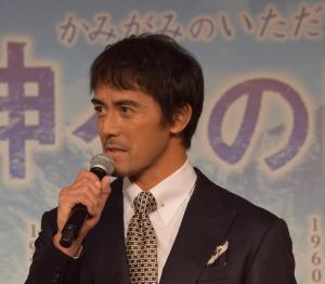 孤高の天才クライマー・羽生を演じた阿部寛さん