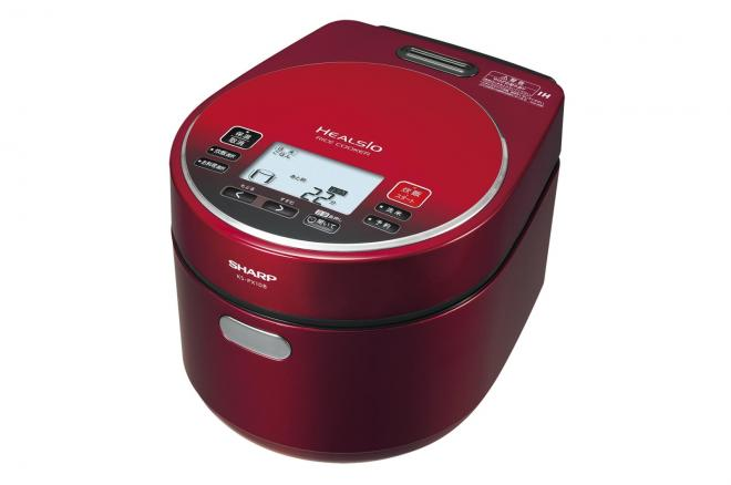誕生日登録機能がついた「ヘルシオ炊飯器」