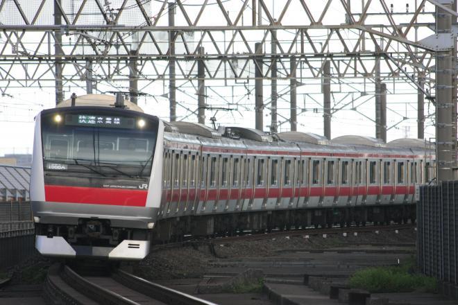京葉線を走るE233系電車