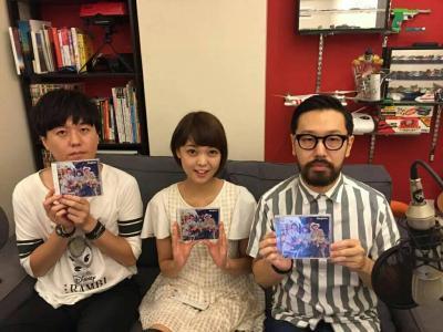 Kaedeさん(中央)、RAM RIDERさん(左)、マツモトさん(右)