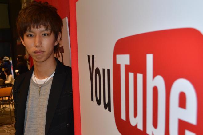 YouTube FANFESTに出演したはじめしゃちょーさん=11月、都内