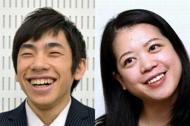 フィギュアファンのスケオタから支持を集める織田信成さん(左)と鈴木明子さんの解説