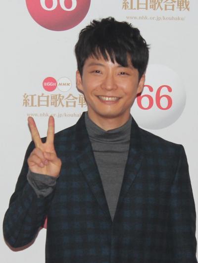 リハーサル後の星野源さん=NHKホール、天野友理香撮影