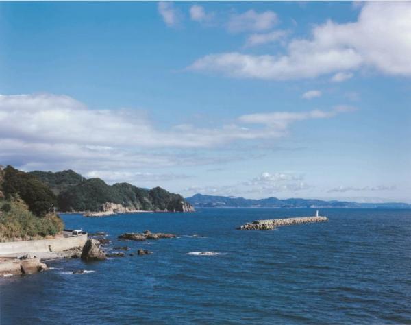 CMに登場する長崎・茂木の海際の風景