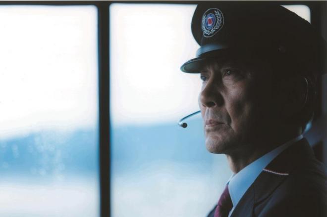 役所広司さんが主演・監督を務めた長崎バスのCMのワンシーン