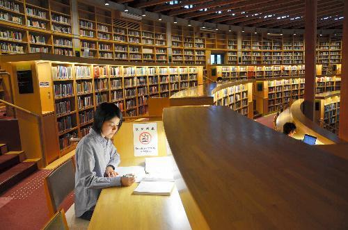 【国際教養大学図書館】24時間開いている図書館