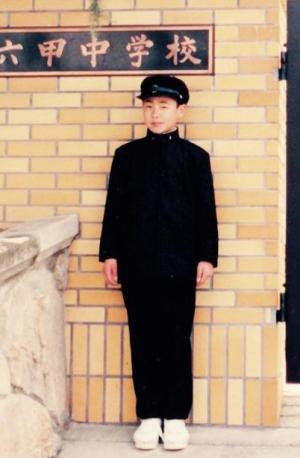 中学生時代の山田ルイ53世さん。受験競争を勝ち抜き進学校に入学するも、引きこもりに…