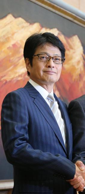 フジテレビの亀山千広社長=2013年5月20日撮影