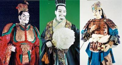 故・川本喜八郎さんが手がけた大型人形。NHKテレビ「三国志」も多くのファンに影響を与えた