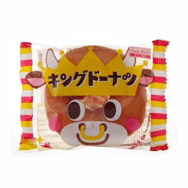 1個キングドーナツ(うし)