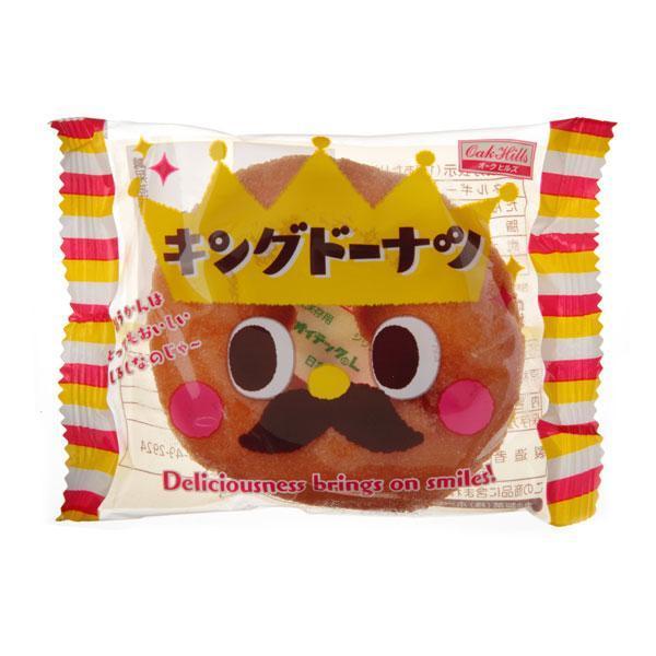 1個キングドーナツ(王様)