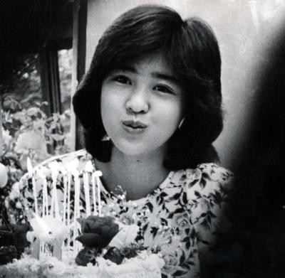 デビュー当時の菊池桃子さん=1985年5月