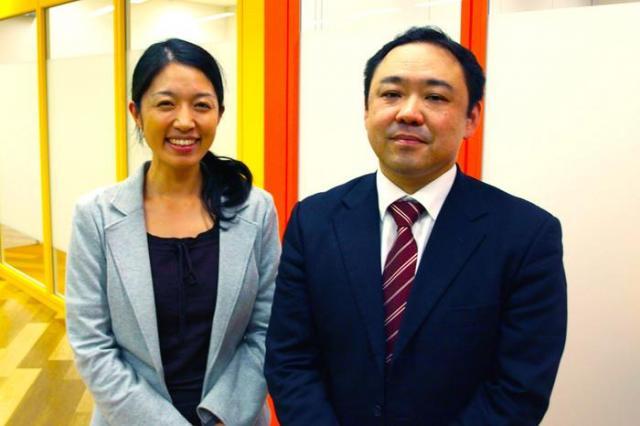 左:NPO法人こまちぷらす 森様、右:ヤマト運輸株式会社 神奈川主管支店 石原様