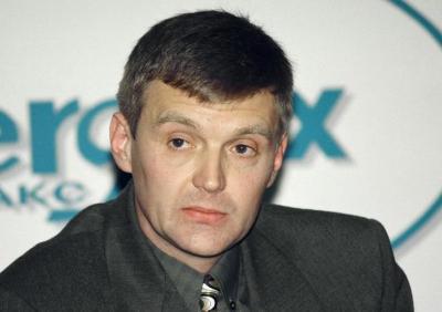 1998年11月17日、モスクワで撮影されたアレクサンドル・リトビネンコ氏の写真=ロイター