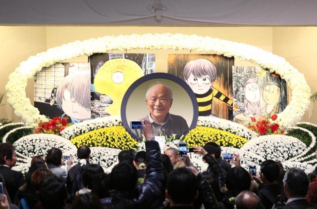 大勢の弔問客が訪れた「水木しげるサン お別れの会」