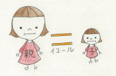毒親=子どもを自分の人格とは違う人格として認められない親のこと