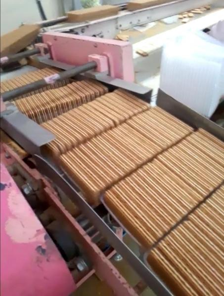 「麦ふぁ~」の製造過程