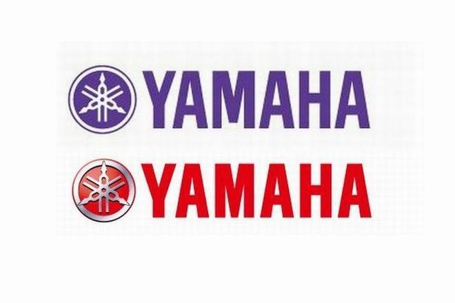 上がヤマハ、下がヤマハ発動機のロゴ