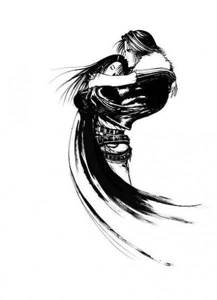 「FINAL FANTASY Ⅷ ロゴデザイン」 ©YOSHITAKA AMANO