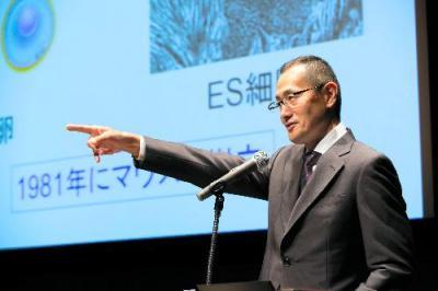 京都大学iPS細胞研究所長・山中伸弥さん