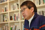 元マイクロソフト日本法人社長の成毛眞さん。「大事なのは理系脳。フェイスブックのマーク・ザッカーバーグは理系脳もっている」と語る