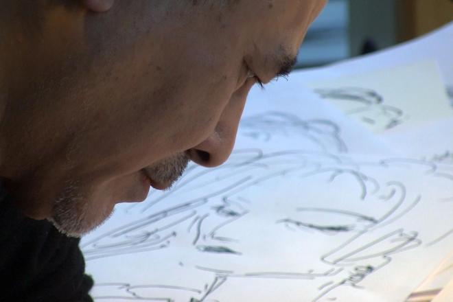 「ドロンジョが生まれたのは旅館のちゃぶ台でした」と語る天野喜孝さん