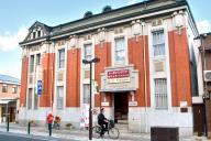 「あさが来た」で注目される旧加島銀行池田支店=池田市栄本町