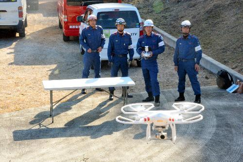 【ドローン】大津市消防局で運用が始まったドローン
