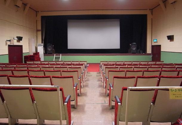 川越スカラ座のスクリーン