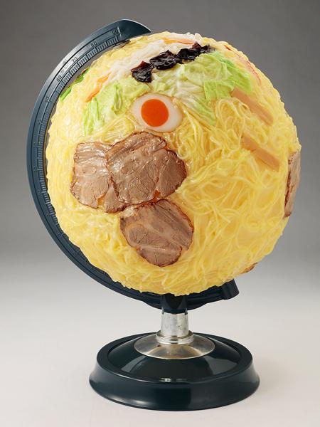 ラーメンの地球儀