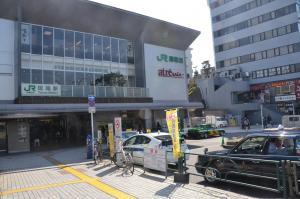 JR田端駅前の光景