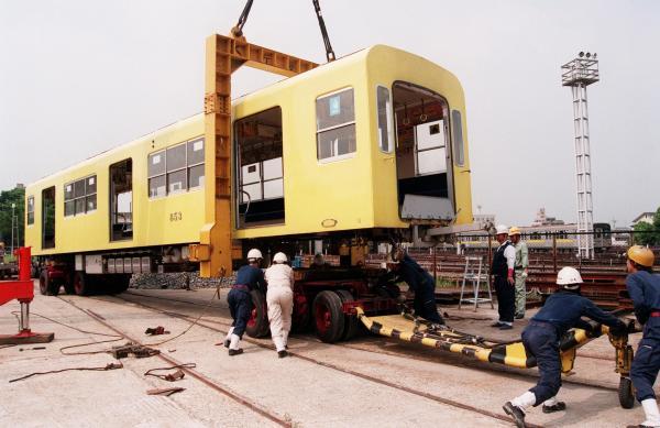 ブエノスアイレスで第二の人生を過ごす名古屋市営地下鉄の車両