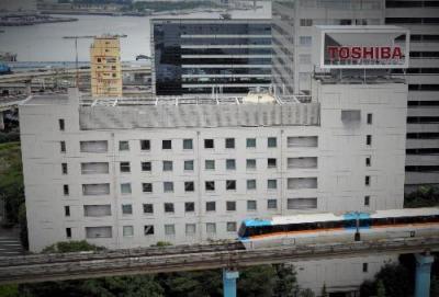 不正会計で揺れる東京・芝浦の東芝本社。歴史の大企業でも安泰ではない実態が明らかになった