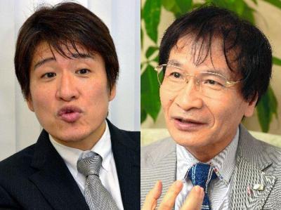 「スーパー文化人」の林修さん(左)と尾木直樹さん