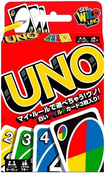 リニューアル後の「UNO」のパッケージ=マテル・インターナショナル提供