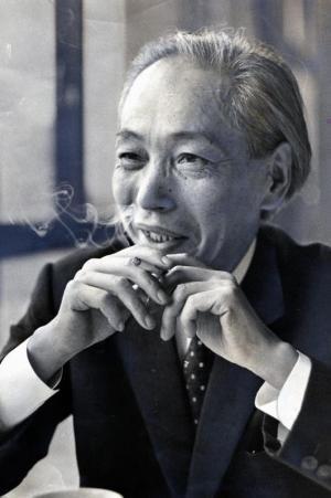 美術評論家の瀧口修造さん