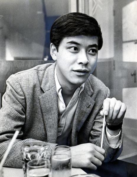 中尾彬さん=1966年6月5日