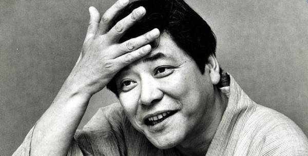 ドラマ「愛の嵐」(フジ系)で、昭和初期の甲府の大地主三枝伝右衛門を演じた中尾彬さん=1986年7月12日