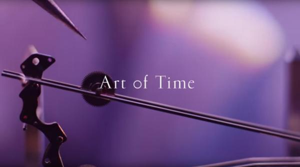 セイコーの動画「Art of Time」の一場面