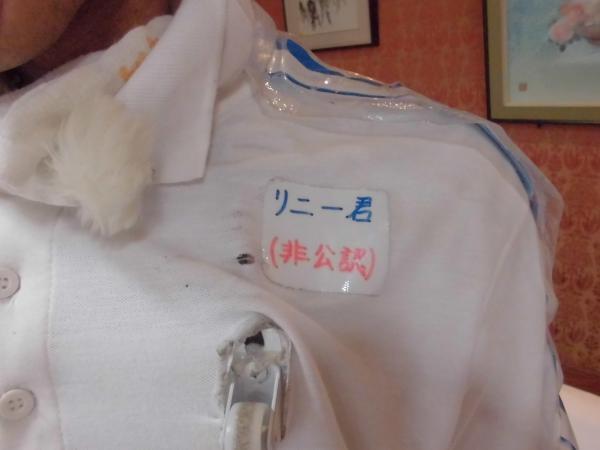 「リニー君」の衣装